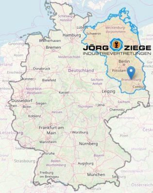 Verkaufsgebiet Jörg Ziege, Schlüsselmaschinen, Schließanlagen, Sicherheitstechnik